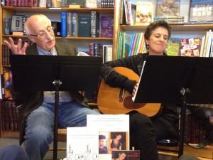 Norbert and Linda performing